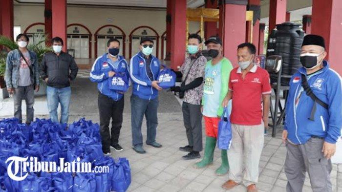 Peduli Garda Depan Penanganan Covid-19, PAN Jawa Timur Sebar Seribu Bingkisan Suplemen Kesehatan