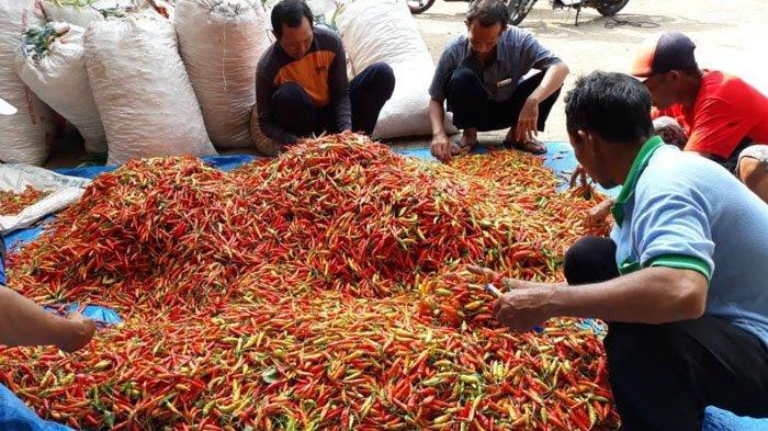 Sebagian Harga Bumbu Dapur dan Kebutuhan Sehari-hari di Pasar Tuban Turun