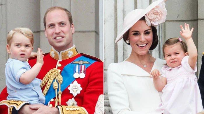 Masih Kecil, Anak-Anak Pangeran William dan Kate Middleton Sudah 'Sumbang' Triliunan untuk Inggris