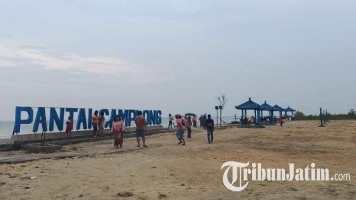Seleb TikTok Ini Sebut 'Banyak Rakyat Jelata' di Pantai Camplong, Disporabudpar Sampang: Hati-hati