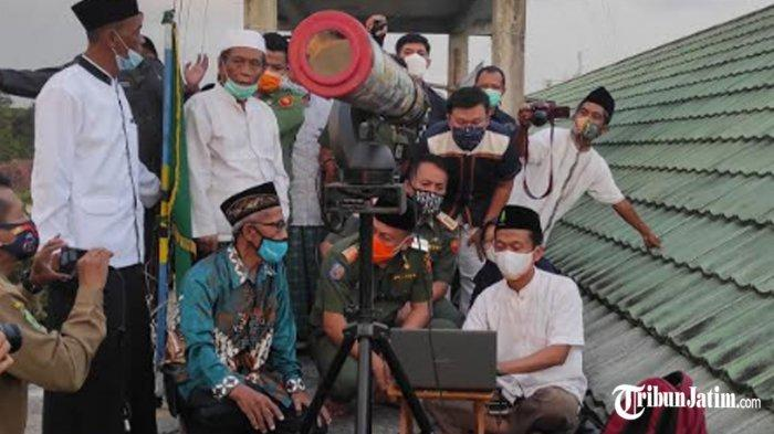 Hilal Tak Terlihat di Ponorogo, Ahli Falak Pondok Pesantren Al Islam: Terhalang Mendung
