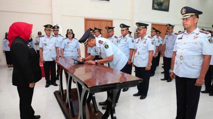 Lantik 31 Kepala UPT Pemasyarakatan Jajaran, Kakanwil Minta Pejabat Baru Buktikan Kualitas