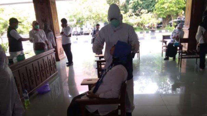 48 Pejabat Pemkab Bojonegoro Tes Swab Massal, 4 Orang Dinyatakan Positif Covid-19