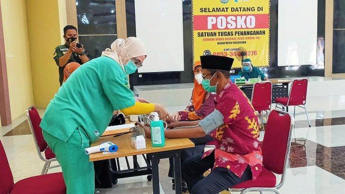 17 Pejabat dan Tokoh Agama, Tokoh Masyarakat di Pasuruan Siap Divaksin