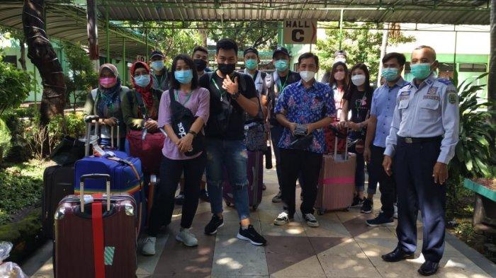 Puluhan PMI Sudah Sampai di Trenggalek, yang Positif Covid-19 Bakal Dirawat di RS Darurat