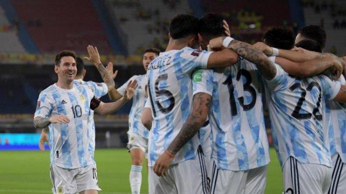 Hasil Argentina Vs Kolombia: Lalui Drama Adu Penalti, La Albiceleste Tantang Brasil di Final
