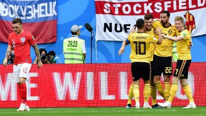 Belgia Vs Inggris, Kembali Taklukkan Inggris, Belgia Rebut Tempat Ketiga Piala Dunia 2018