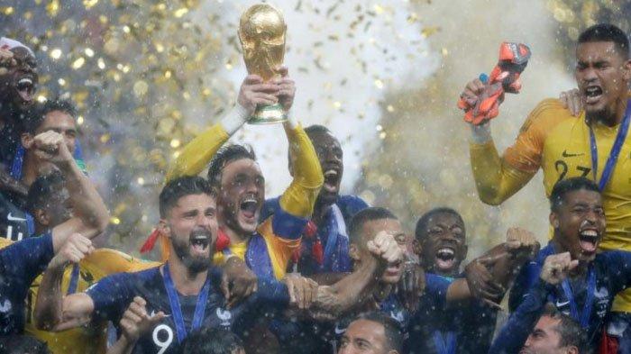 Tak Tersentuh Hasil Minor dan Jadi Juara Piala Dunia 2018, Prancis Ternyata Tinggalkan Setitik Cela