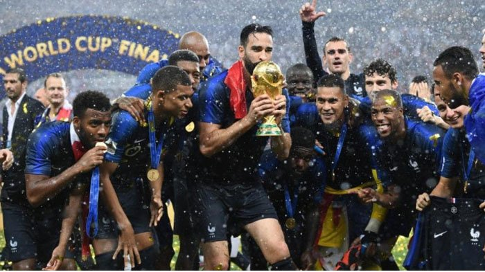 Juara Piala Dunia, Prancis Terima Hadiah Rp 5,4 Triliun, Ini Jumlah Uang yang Didapat Tiap Pemainnya