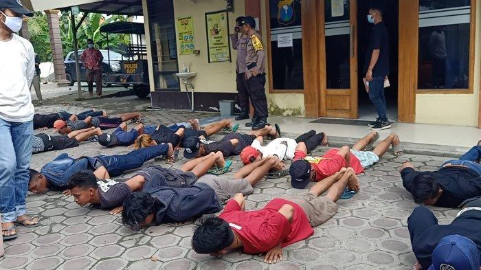 Pesta Miras, Belasan Pemuda di Lamongan Digerebek Polisi, Langsung Diberi Pembinaan