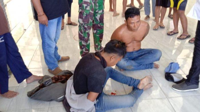 Detik-detik Maling Motor di Bondowoso Dihadang Warga Ramai-ramai, Pelaku Sempat Acungkan Senjata