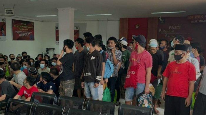 Rutan Kelas I Surabaya Terima Tahanan Baru Sebanyak 114 dari Kejari, Langsung Tempati Blok Karantina