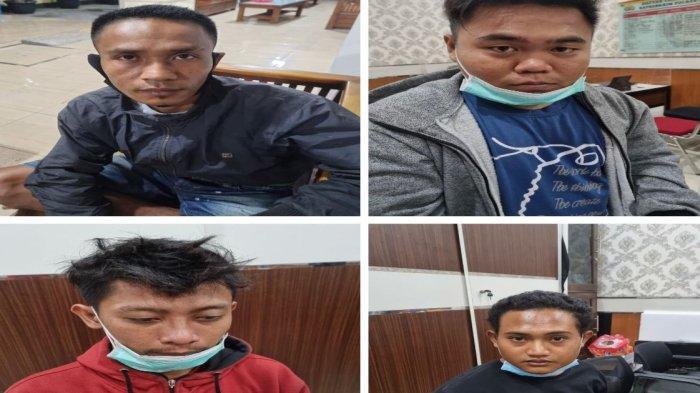Empat dari Puluhan Pemuda Perusak Kafe dan Warung Makan di Lamongan Dibekuk Tim Jaka Tingkir