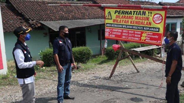 45 Warga Dusun Kendalan Terpapar Covid-19, Depan Gang Ada Poster 'Dilarang Masuk, Ngeyel Keplaaak'