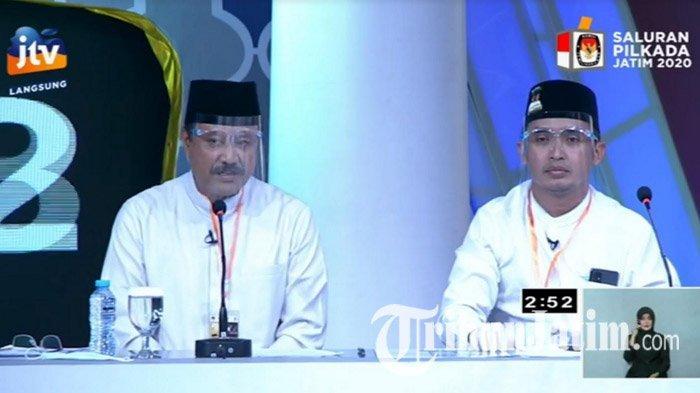 Buka Debat Publik Pilkada Kota Pasuruan 2020, Gus Ipul-Mas Adi Kutip Kaidah Al-Muhafadzah