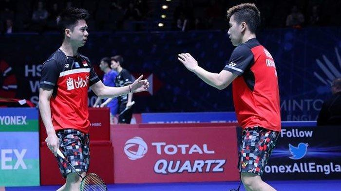Link Live Streaming All England 2021 - 6 Wakil Indonesia Tanding Malam Ini