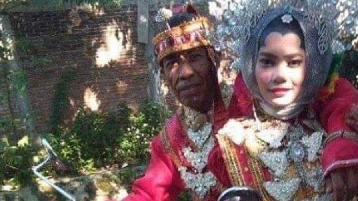 Perawan Cantik Dinikahi Kakek Duda Beda 39 Tahun, Ikhlas karena Cinta, Aman: Jatuh Pandangan Pertama