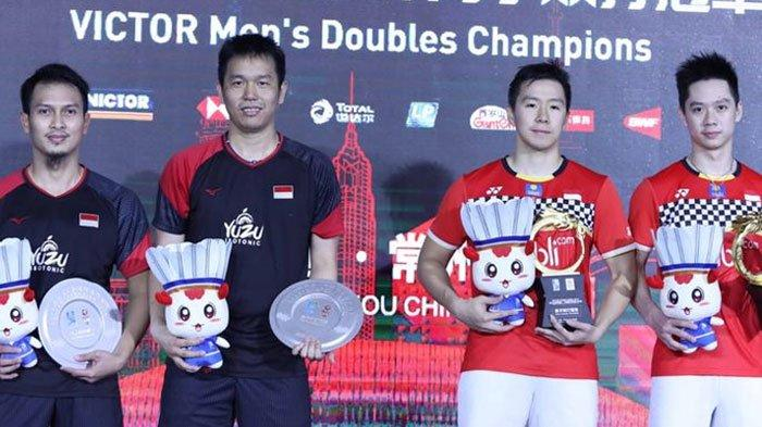 Update Ranking BWF - Axelsen Runner Up Tunggal Putra, The Minions dan The Daddies Kuasai Ganda Putra