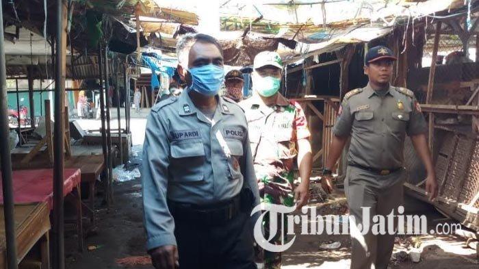 Jember Ditetapkan Zona Merah Covid-19, Jam Operasional Pasar Dibatasi, Pedagang Jualan Cuma 3 Jam