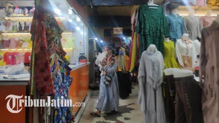 Pedagang Pasar Kapasan Siap Resiko 'Damai dengan Covid-19', Dukung Wali Kota Risma Akhiri PSBB