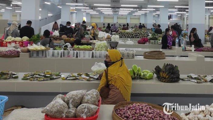 Penataan Zonasi Masih Dikeluhkan Pedagang, Lapak Pasar Legi Ponorogo Banyak yang Kosong