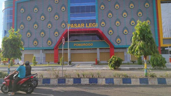 Molor Lagi, Pedagang Pasar Legi Ponorogo Baru Pindahan 'Bulan Besar'