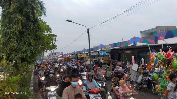 Pasar Kaget Saat Bulan Puasa di Surodinawan Mojokerto Ditutup Ini Alasannya