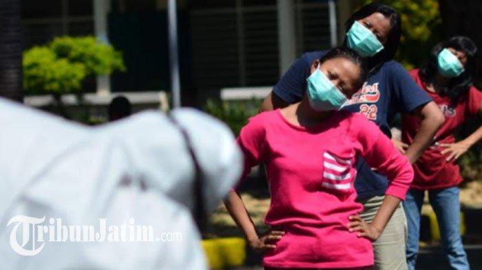Pasien Corona di RS Lapangan Indrapura Surabaya Berangsur Mereda