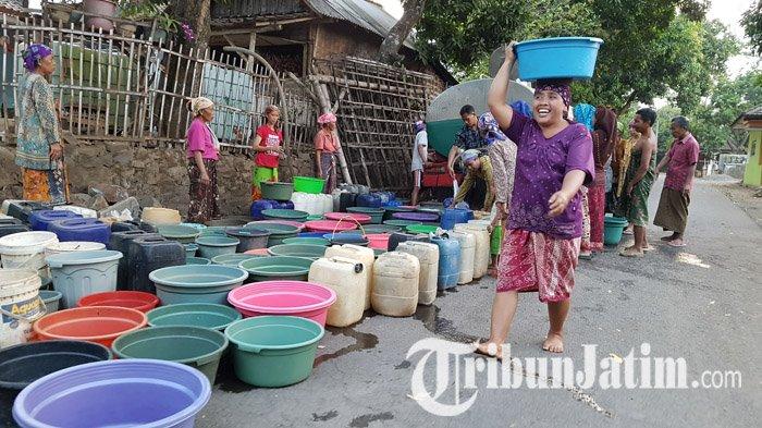 Dropping Air dari BPBD Jatim di 8 Kabupaten yang Kekeringan Belum Tersalurkan, Berkas Jadi Persoalan