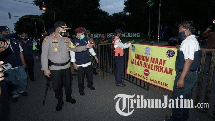 Cegah Kerumunan di Malam Tahun Baru, Ribuan Petugas Berpatroli di Titik-titik Keramaian Banyuwangi