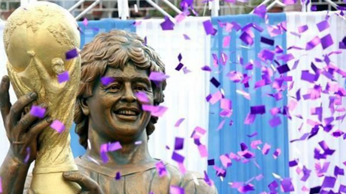 Duel Para Juara, Italia Vs Argentina Bentrok di Maradona Cup?