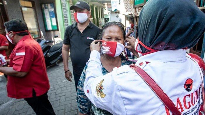 Ogah Terprovokasi Pembakaran Bendera, PDIP Surabaya Pilih Gencarkan Aksi Sosial di Bulan Bung Karno