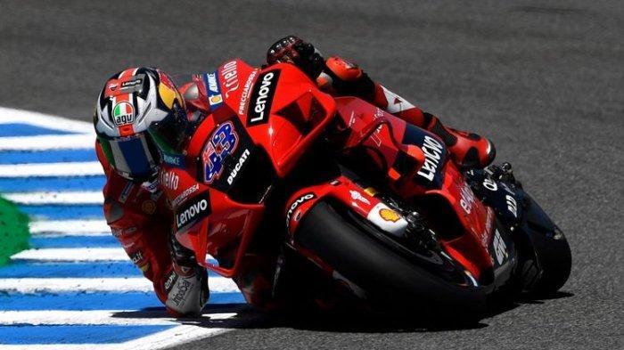 Hasil FP3 MotoGP Inggris 2021 - Jack Miller Tercepat, Valentino Rossi Bikin Kejutan