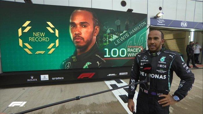 Hasil F1 GP Rusia 2021 - Lewis Hamilton Cetak Sejarah, Petik Kemenangan ke-100