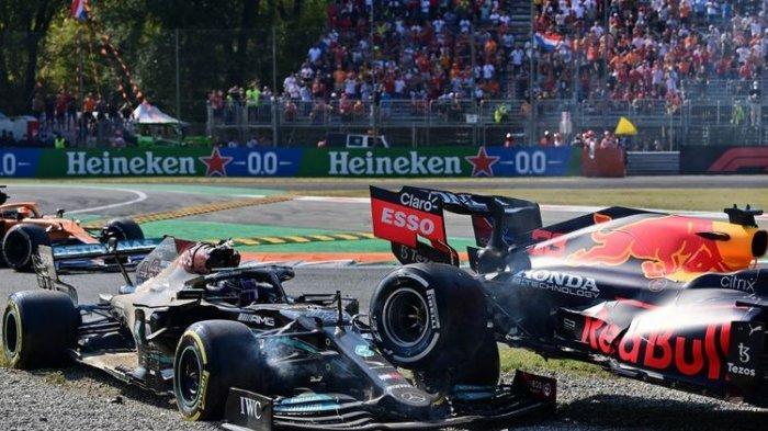Hasil F1 GP Italia 2021: Diwarnai Tabrakan Hamilton-Verstappen, Ricciardo Menang, McLaren Berjaya