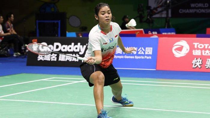 Lewat Kemenangan Dramatis, Gregoria Mariska Tanjung Sukses Kantongi Tiket 16 Besar China Open 2018