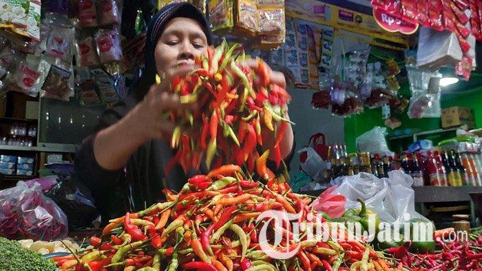 Harga Cabai Rawit di Tuban Terus Meroket di Awal Tahun 2021, Musim Penghujan Pengaruhi Stok