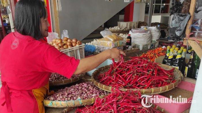 Sempat Turun Rp 20 Ribu/Kg, Harga Cabai Rawit di Kota Blitar Naik Lagi Menjelang Idul Adha
