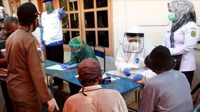37 Pedagang Pasar Panggul Trenggalek Rapid Test Deteksi Covid-19, Dinas Kesehatan Beber Hasilnya