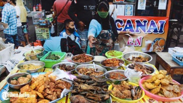 Takjil-Takjil Legit Jalan Karang Menjangan, Surga Kuliner Musiman Kota Pahlawan