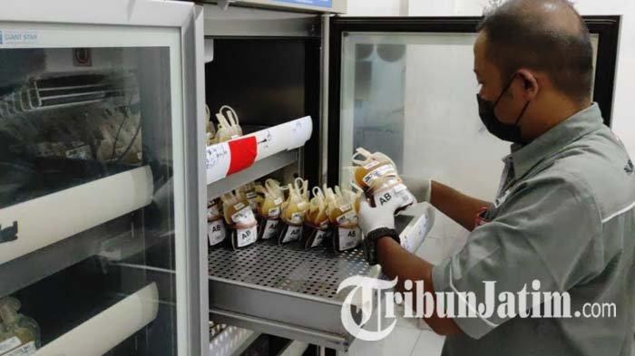 Jaga Stok Darah di Tengah Terjangan Pandemi Covid-19, PMI Kota Blitar Gandeng Karang Taruna