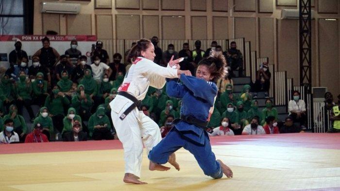 PON XX Papua 2021 - Judo Sumbang Satu Medali Emas untuk Jawa Timur