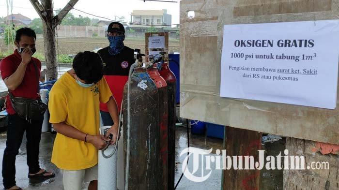 Kisah Peternak Ikan Koi di Kota Blitar Gratiskan Oksigen untuk Pasien Covid-19: Memprihatinkan
