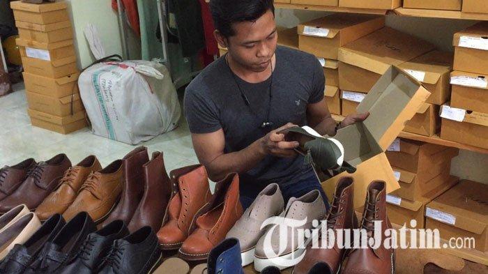 Siasat Pengusaha UMKM Sepatu di Malang Bertahan Selama Pandemi, Jual via Online hingga Tebar Diskon
