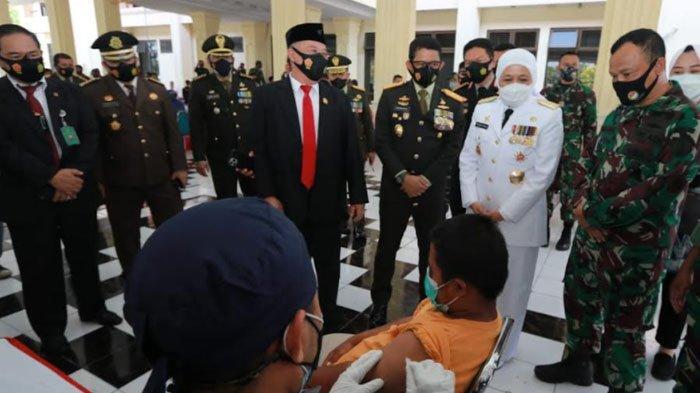 HUT ke-76 TNI, Kodam V Brawijaya Komitmen Dorong Kesejahteraan Masyarakat dan Penanganan Pandemi