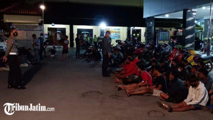 65 Orang Ditangkap dalam Balap Liar di Jembatan Ngujang Dua, Mayoritas Remaja, Ada yang Masih 6 SD