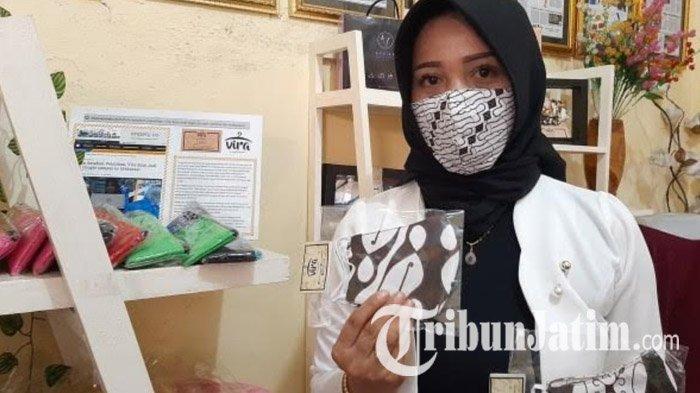 Desainer dan Pelaku UMKM Surabaya Produksi Masker dari Kain Perca, Dikirim Sampai Jayapura