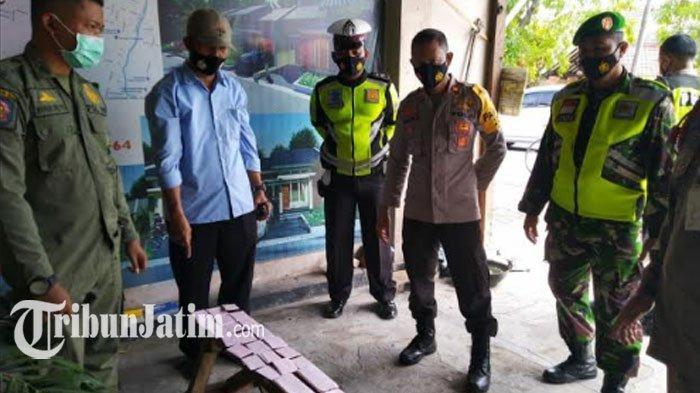 Operasi Yustisi di Mojokerto Jaring 25 Pelanggar, Bandel Tak Pakai Masker: HP Disita Petugas Patroli