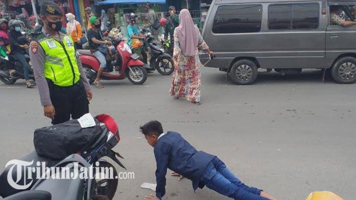 Penegakan Protokol Kesehatan di Tuban, Satgas Gelar Operasi Yustisi di Sejumlah Titik Kerumunan