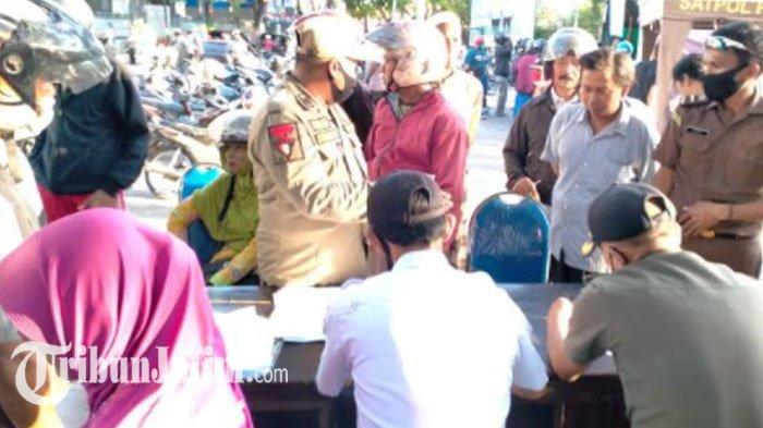 1011 Pelanggar Prokes di Pamekasan Terjaring Operasi Yustisi Selama 4 Bulan, Alasan Lupa Bawa Masker